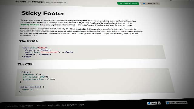 Solved by Flexbox — Cleaner, hack-free CSS